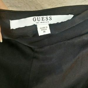 Guess brand Short skirt along with a nice  top